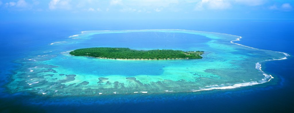Island view - this reef could be your Hotel