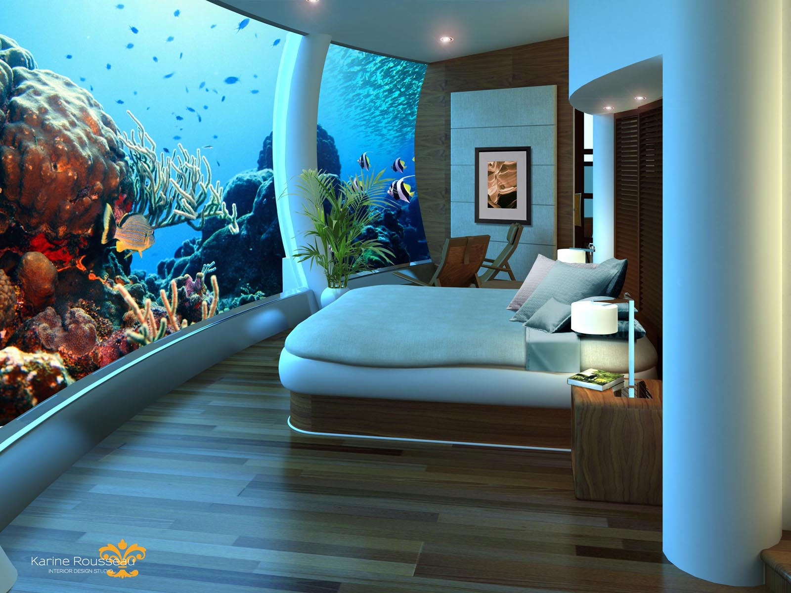 The Underwater Hotel - Poseidon Resort Fiji Islands