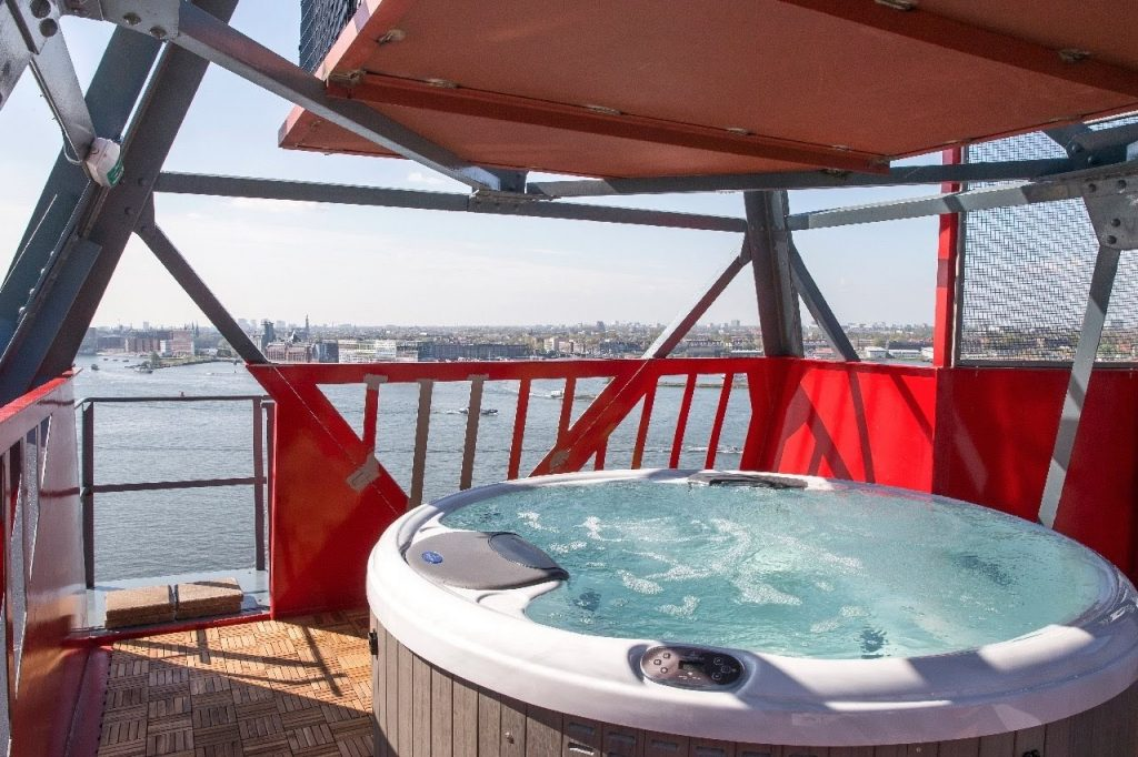 Whirlpool - Spa from the exeptional Hotel in Amsterdam