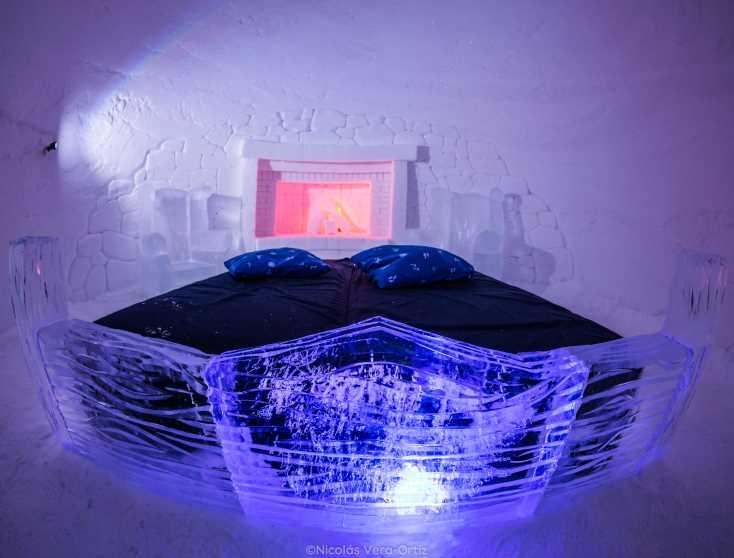 Sleep in a luxury igloo