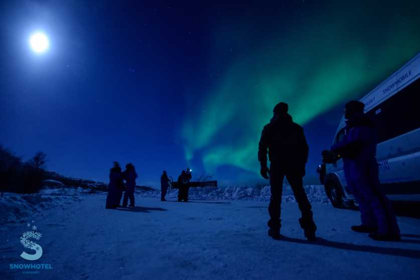 watch the northern lights - in a snowhotel in norway