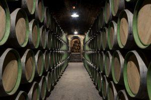 Winery Barrels - Basement